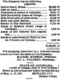 5-30-1870, insurance co. 1870 report 3