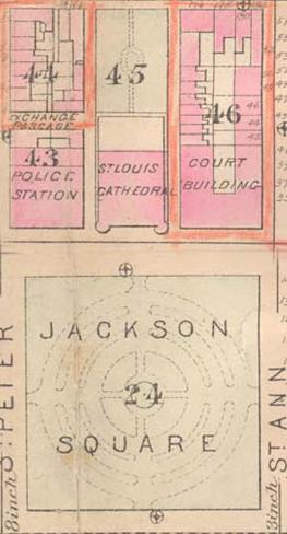 Jackson Square & Buildings