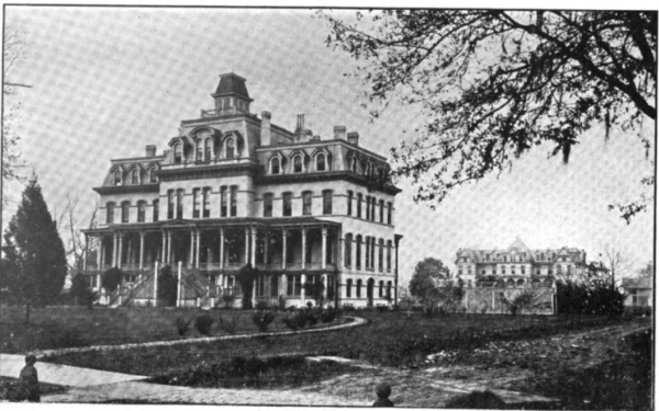 Leland University Campus, 1901