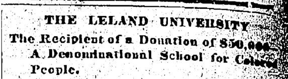 Leland Chamberlain Donation