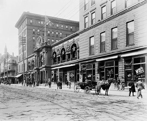 The third St. Charles Hotel - built in 1894