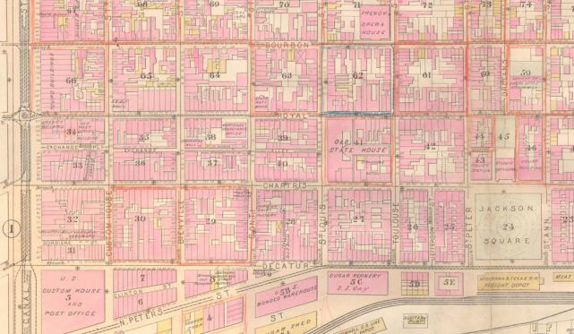 St Louis Hotel Robinsons Atlas