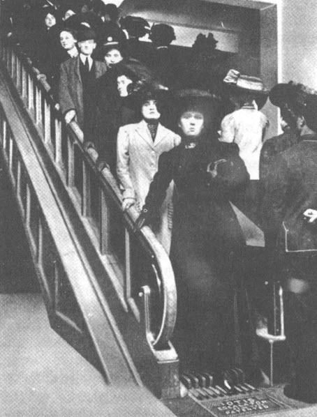 Siegel and Cooper Escalator
