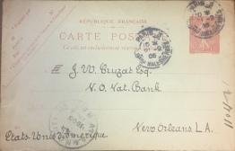 Postcard from Pontalba to Cruzat