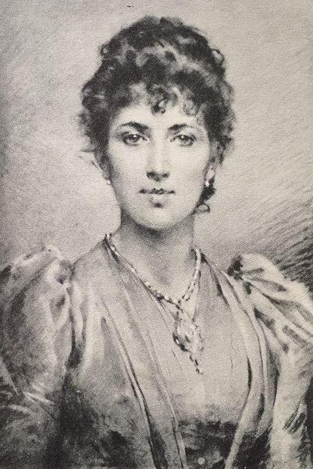 Mrs. Agnes Bertha Marshall - Circa 1891. Engraving by Eduardo Tofano (1938-1920).  Weir et al., Mrs Marshall, 27.