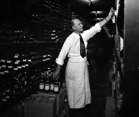 Antoine's Restaurant Wine Cellar